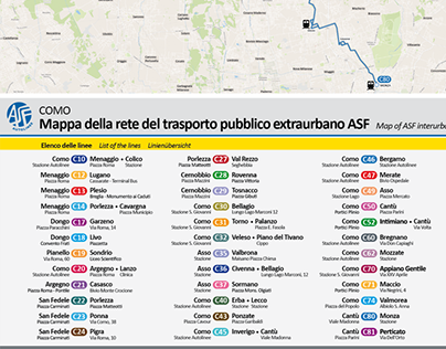 Segnaletica e wayfinding per Asf Autolinee