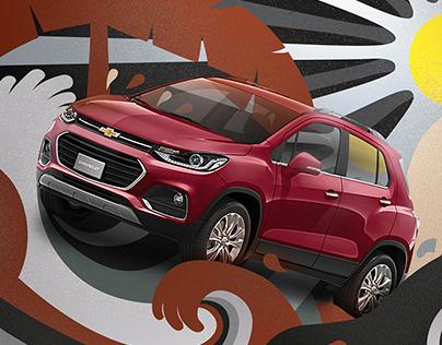 Tracker Illustration Chevrolet