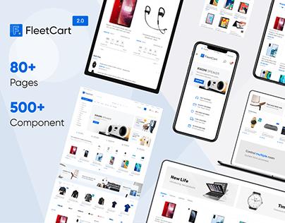 FleetCart - Laravel eCommerce System Website