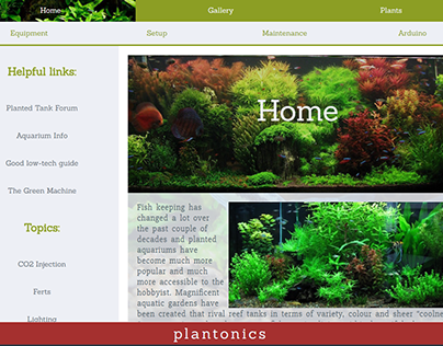 Plantonics Web Design/Development