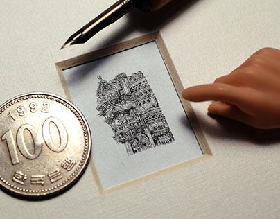 Miniature drawings