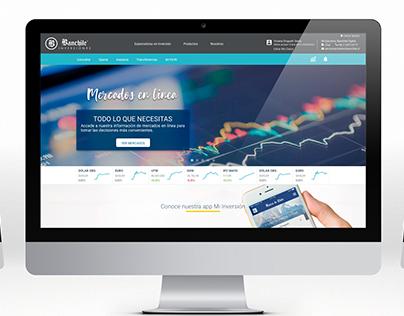 Sitio Indicadores de Mercado