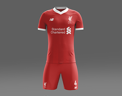 brand new c1834 4b28a Liverpool Home, Away and Third Kit Concepts 2018/2019 on Behance