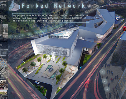 Graduation project: Forked Network crafts center