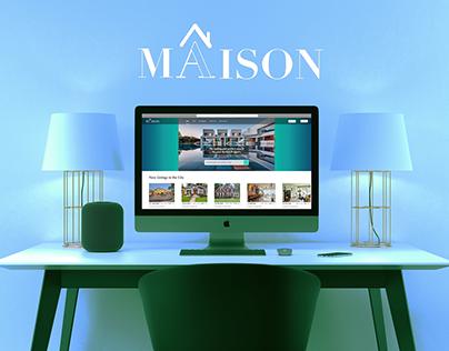 MAISON: Real Estate app