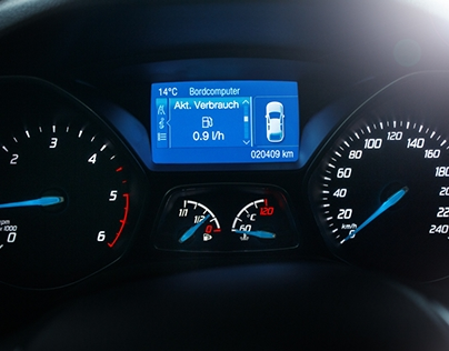 Ford Focus Speedo