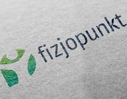Fizjopunkt logo branding