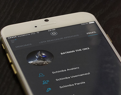 Beacons - App design
