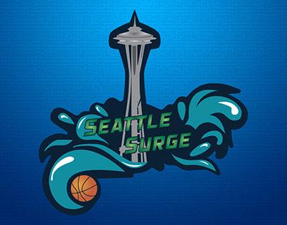 Mock up Basketball Team Logo