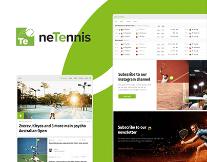 neTennis, interface design
