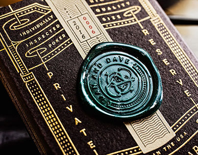 Dan & Dave Private Reserve playing cards