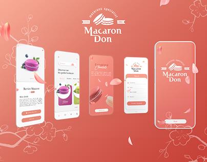 Macaron Don - UI/UX Design