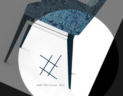 Pattern Series Rattan Chair