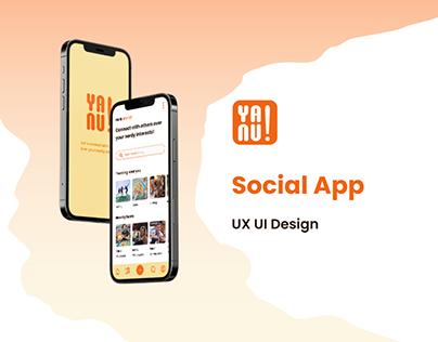 Social App - UX UI Design