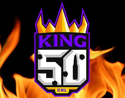 King 50 CAL Branding