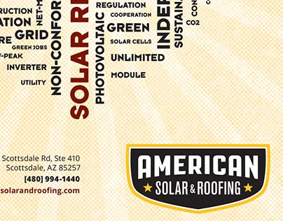 American Solar & Roofing Ranking Arizona Ad