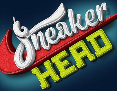Estudo Lettering - Sneaker Head