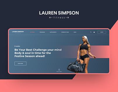 laurensimpsonfitness -Fitness Website