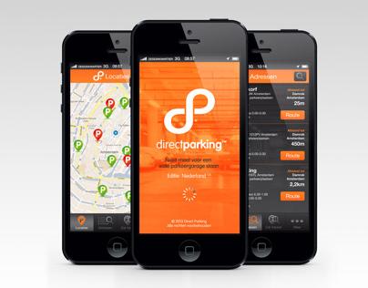 Direct Parking App | Altijd een vrije parkeerplaats