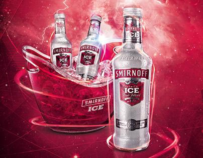 Smirnoof Ice Print Ad