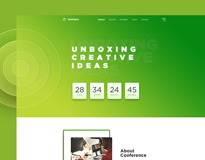 Thinkbox - Event and Conference Template