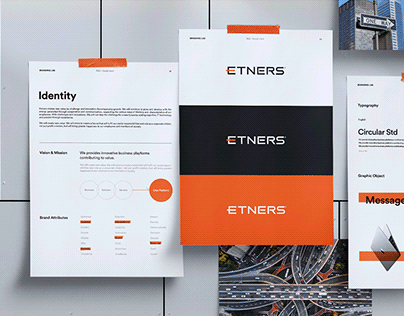 Etners Co., Ltd. Rebranding Concept