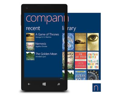 Compann - book companion app concept