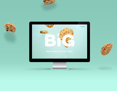 Big Biscuits - Branding & Website