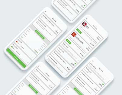 Food Delivery App UI/UX Design