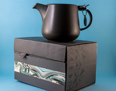 Íssól Icelandic Teapot Packaging