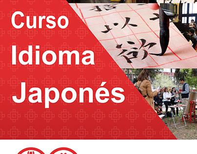 Curso Idioma Japonés Afiche