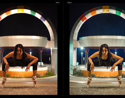 Antes e Depois - Cláudia Lima - Manaus/AM 2012