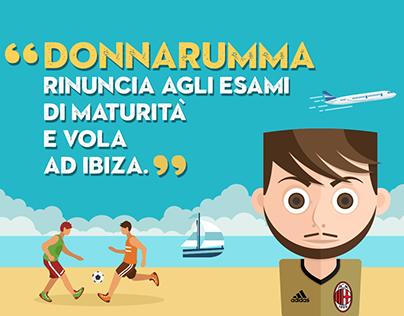 Infographic - Donnarumma