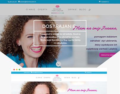Dostrajanie.pl website
