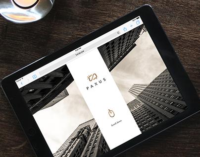 Paxus - Website