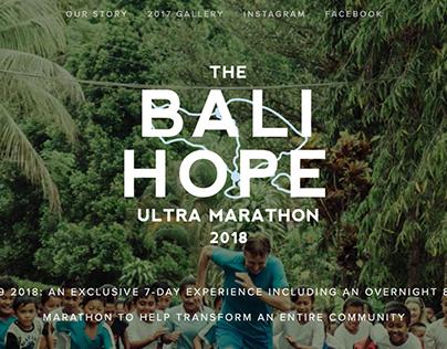 THE BALI HOPE