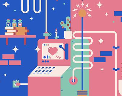 Branding Lab - Ilustrações TSPP
