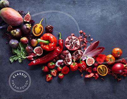 Classic Fresh Foods — Brand Identity & Photography
