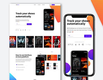 Show Keeper |Website Design