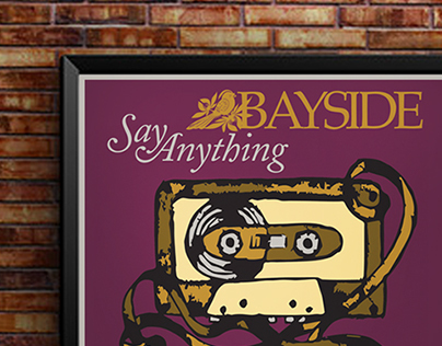 Say Anything Band Poster