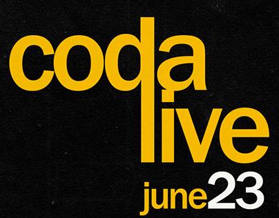 CODA live