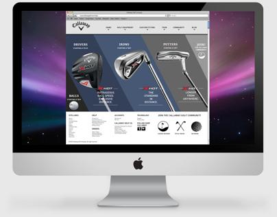 Callaway Golf Co: Website Redesign
