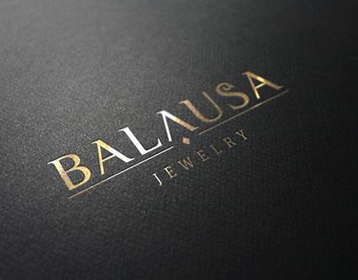 "Разработка логотипа для ювелирного салона ""Балауса"""