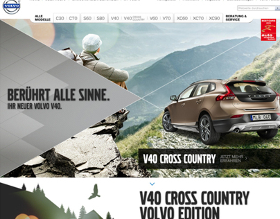 Volvo | Microsite for the new V40