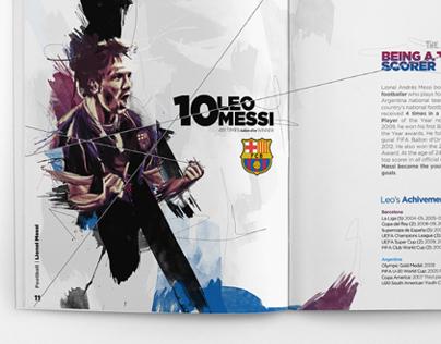 Lionel Messi Illustrated
