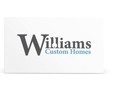 Williams Custom Homes Logo