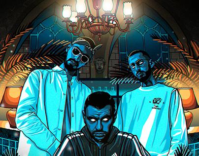 Russian rap arts