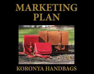 Marketing Plan: Koronya Handbags