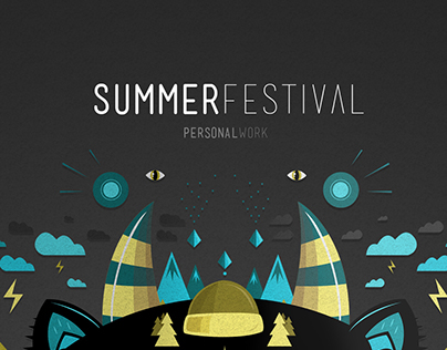 SUMMER FESTIVAL - personal work