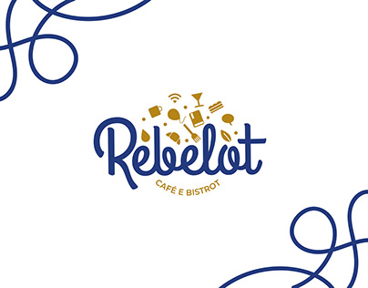 REBELOT CAFÈ - VISUAL IDENTITY